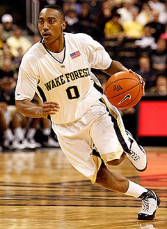 Wake Forest's Jeff Teague