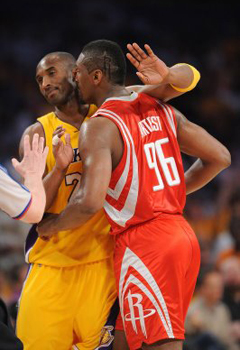 Artest vs. Kobe