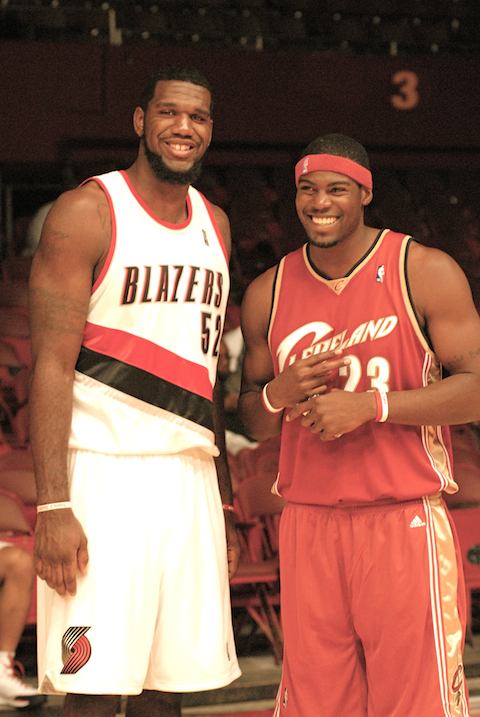 Greg Oden & Sheldon Bailey
