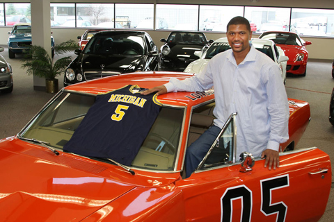Jalen Rose and General Lee