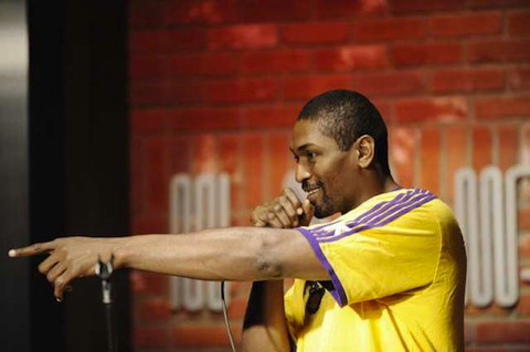 Ron Artest's Stand-Up Comedy Debut