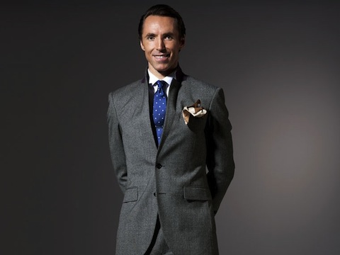 The Steve Nash Gray Glen Plaid Suit