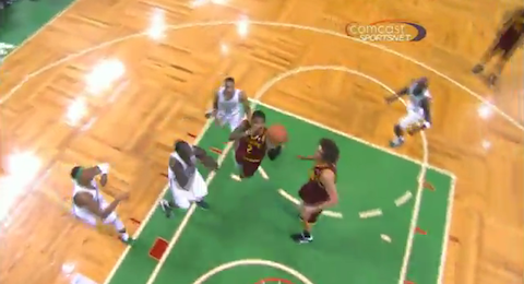 Kyrie Irving Used The Spin Cycle For His Game-Winner In Boston