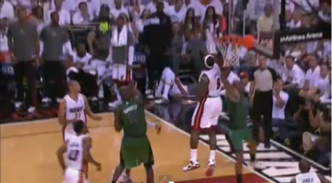 lebron james block paul pierce