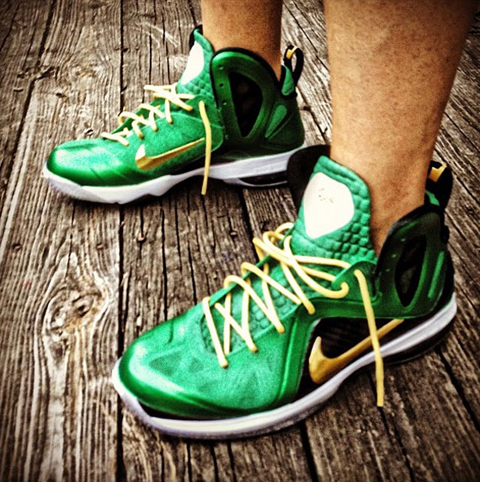 "Nike LeBron 9 Elite ""SVSM"" Customs"
