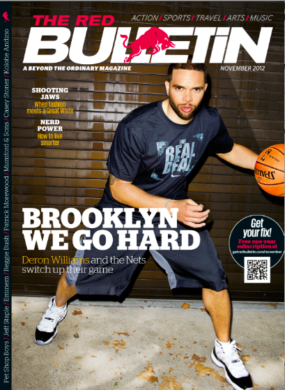 Deron Williams Red Bulletin Cover