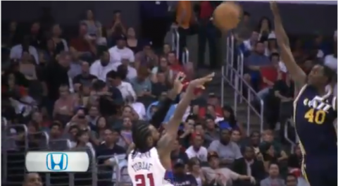 jeremy evan dunk block video highlights