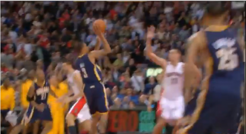 george hill game winner video