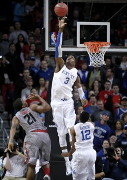 Kentucky's Nerlens Noel. (photo. UK Athletics/Chet White)