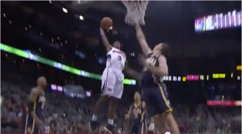 lou williams dunk on tyler hansbrough