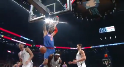 tyson chandler dunk nets