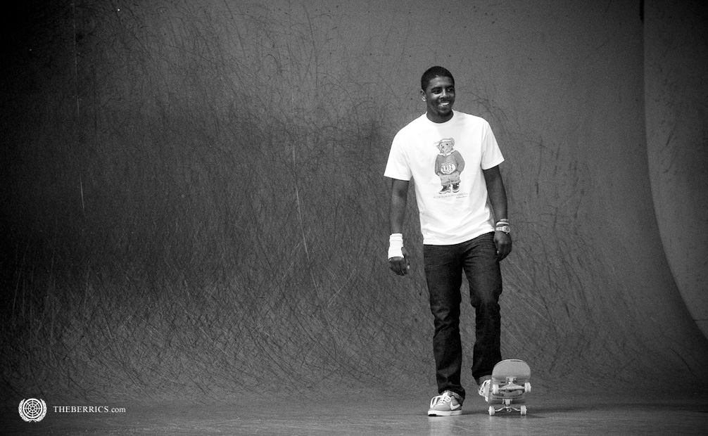 kyrie irving skateboard the berrics