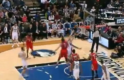 J.J. Barea Explodes on Fast Break into a Spin Move