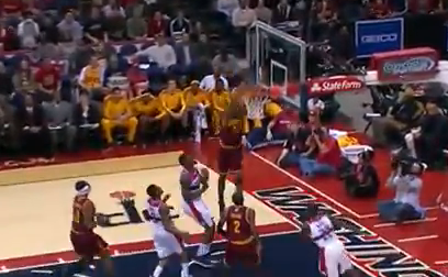 Alonzo Gee Smacks Down Alley-Oop Slam
