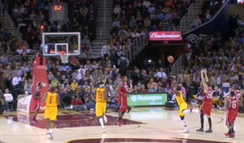 Kyrie Irving Cashes in from Downtown As Clock Expires