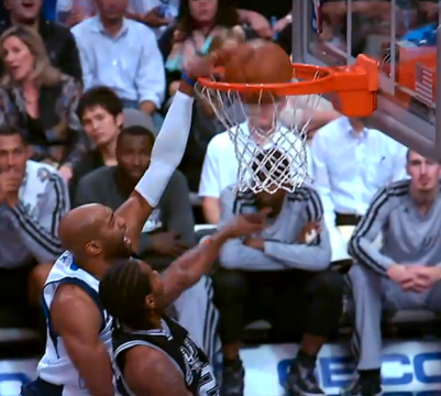 Vince Carter Throws Down A Ferocious Slam