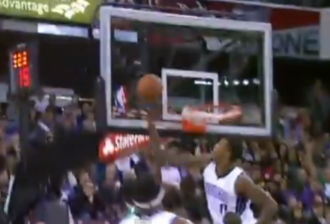 Rookie Thomas Robinson Double Stuffs Jeff Green