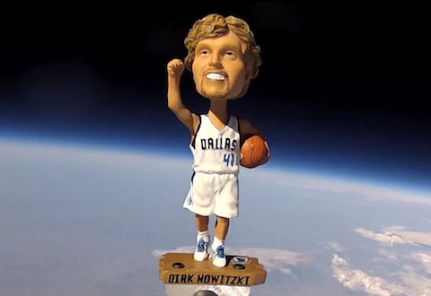 Dallas Won't Trade Dirk Nowitzki, But It Did Send His Bobblehea…