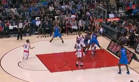 Russell Westbrook Maintains Control After Contact and Finishes …