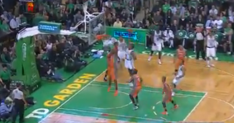 Jeff Green Throws Down a Monster Dunk