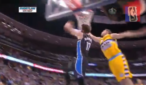 Josh McRoberts Throws it Down in Reverse