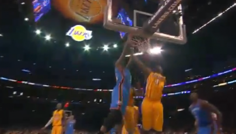 Kevin Durant Overpowers The Lakers