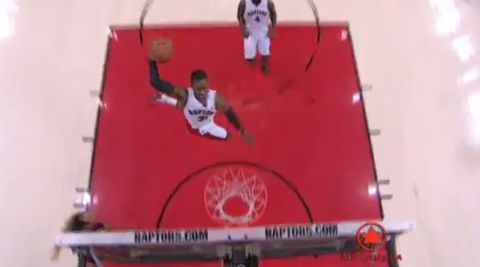 Terrence Ross Explodes For a Sledge Hammer Dunk