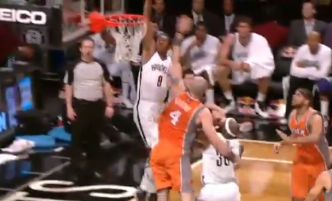 A MarShon Brooks Rack Attack