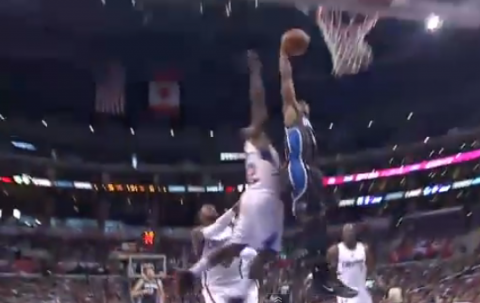 Ish Smith Hammers in a Monster Dunk