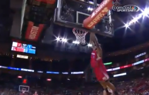 Eric Bledsoe Lobs It To DeAndre Jordan