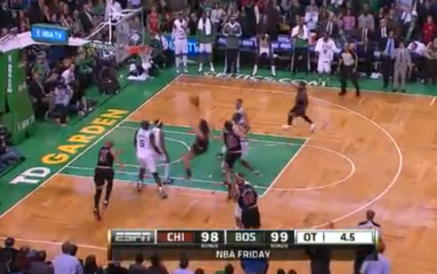 Marco Belinelli Hits An Off-Balanced, Game-Winner In Overtime