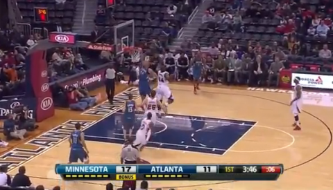 Greg Stiemsma Throws Down One-Handed Alley-Oop