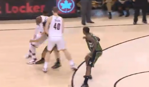 Kyrie Irving's Killer Crossover and Spin Move