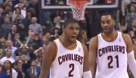 Kyrie Irving Hits Game-Winning Three-Pointer