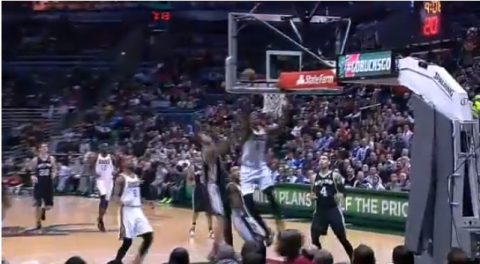 larry sanders block video