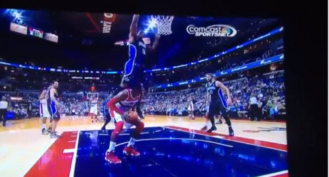 ish smith hurdles john wall