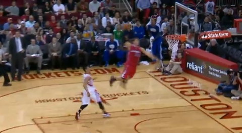 Blake Griffin Huge Breakaway Dunk on the Houston Rockets (Video…