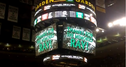 Boston Celtics Ray Allen Tribute Video