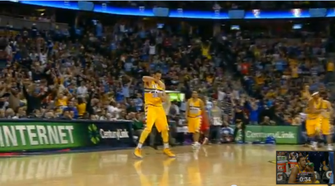 javale mcgee celebration