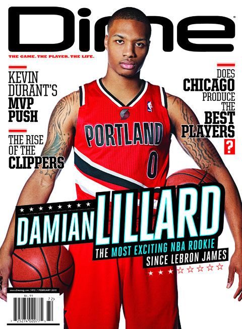 The Great Dame: Read Dime Magazine's Damian Lillard Cover Story