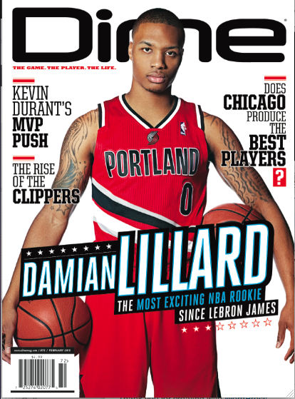 Damian Lillard Expected to be Named NBA Rookie of the Year on W…