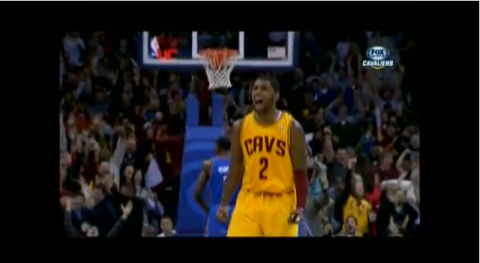 kyrie irving dominates thunder
