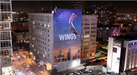 Watch the Creation of a Massive Blake Griffin Mural in Downtown…