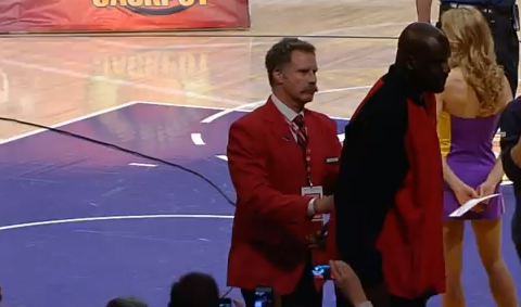 Will Ferrell Dresses Up As Security Guard, Throws Shaq Out Of S…