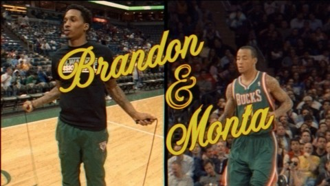 Brandon Jennings & Monta Ellis Star As '80s TV Icons Lavern…