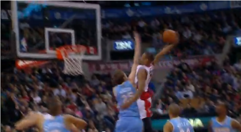 DeMar DeRozan Dunks on Timofey Mozgov's Face