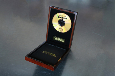 "Get on Down Ghostface Killah Ironman ""Premium Collection: Gold Edition"" CD Box"