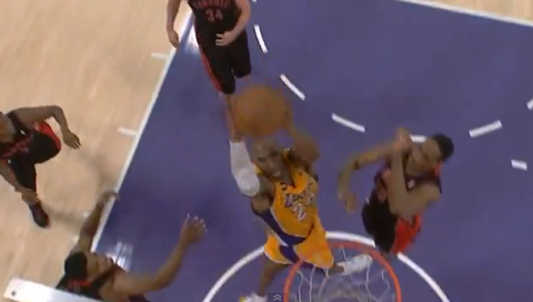 Kobe's Game-Winning Dunk in OT