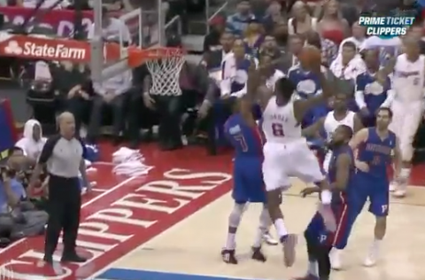 DeAndre Jordan Throws Down Alley-Oop, Absolutely Destroys Brand…