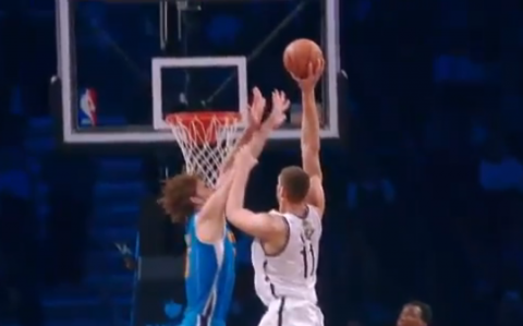 Double Trouble: Brook Lopez Posterizes His Twin Brother Robin